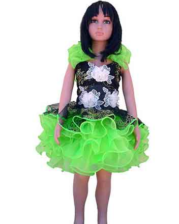 Lovely green Pageant dress drum major dress in many colors available